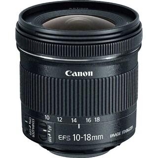 Canon EF-S 10-18mm f/4.5-5.6 IS STM Lens (International Model)