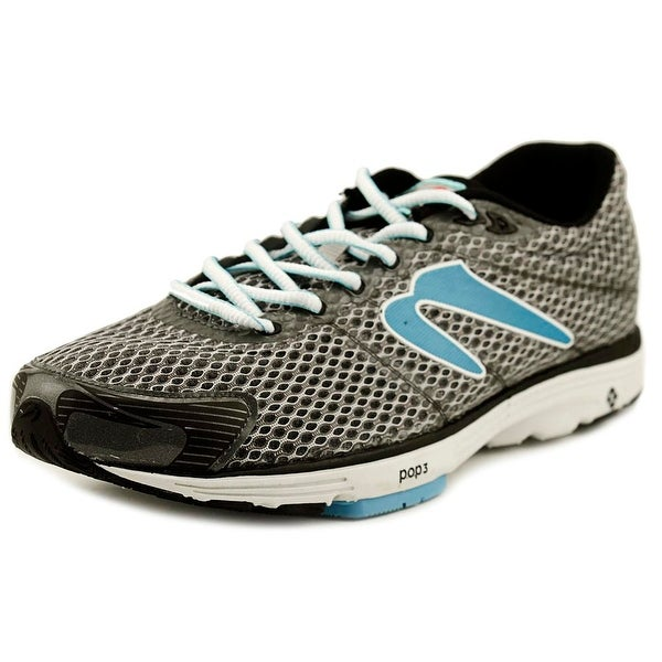 Newton Aha II Women Round Toe Synthetic Gray Running Shoe