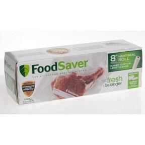 "Foodsaver FSFSBF0516-000 Vacuum Sealer Bags, 8"" x 20', Clear"