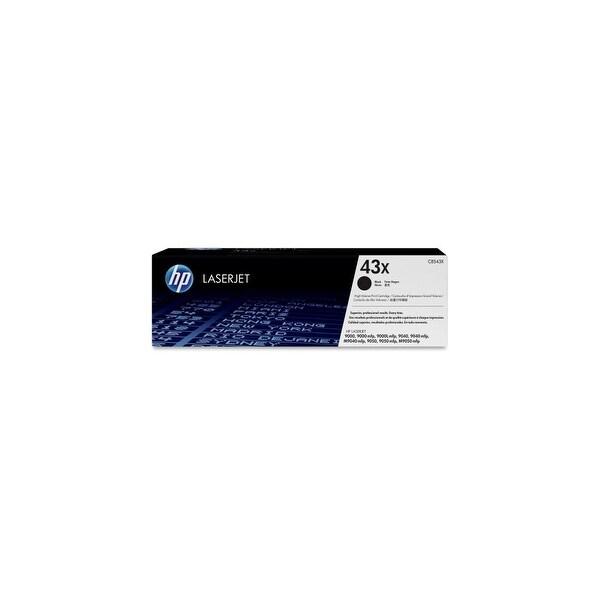 HP 43X High Yield Black Original LaserJet Toner Cartridge (C8543X) (Single Pack)