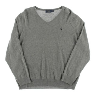 Polo Ralph Lauren Mens Big & Tall V-Neck Sweater Merino Wool Long Sleeves - 2xb https://ak1.ostkcdn.com/images/products/is/images/direct/b05d740a87ed348d4a93db3397c2de0354aebdcf/Polo-Ralph-Lauren-Mens-Big-%26-Tall-V-Neck-Sweater-Merino-Wool-Long-Sleeves.jpg?impolicy=medium