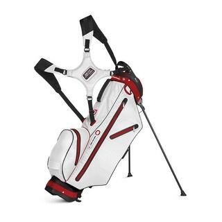 New Sun Mountain H2NO Ultralite Stand Bag (No Logo)- Black/White/Red- CLOSEOUT - black / white / red