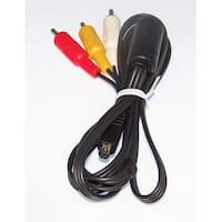 OEM Sony Audio Video AV Cord Cable Shipped With DCRSR200, DCR-SR200