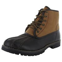 Madden Mens Cornel Closed Toe Ankle Cold Weather Boots