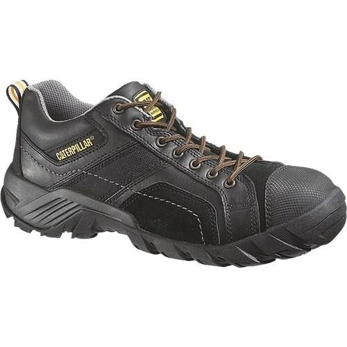 CAT Footwear Argon Composite Toe - Black 14(W) Toe Work Shoe