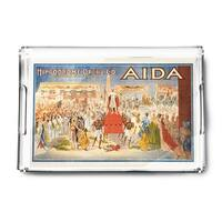 The Spectacle Aida - Vintage Advertisement (Acrylic Serving Tray)