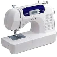 Brother Cs6000i 60-Stitch Computerized Sewing Machine With Wide Table, White