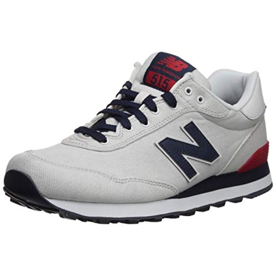 most reliable latest trends of 2019 modern and elegant in fashion New Balance Men's 515v1 Sneaker, Nimbus Cloud/NB Navy/RED, 13 D US