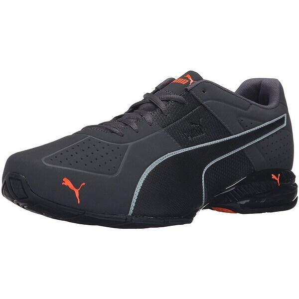 Puma Cell Surin 2 Matte Mens Asphalt/Black/Shocking Orange S972067UI Shoes