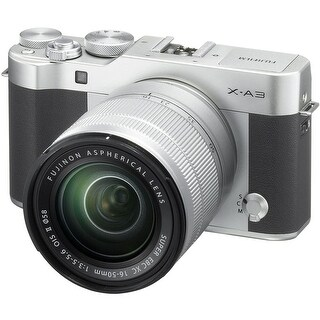 Fujifilm X-A3 Mirrorless Digital Camera with 16-50mm Lens (International Model) (Option: Pink)