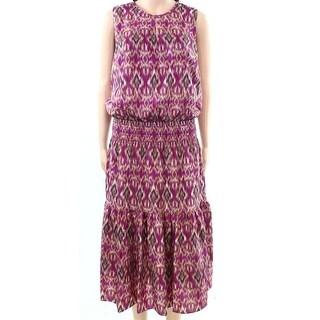 Lauren by Ralph Lauren Womens Tiered Maxi Dress