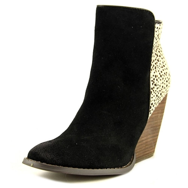 Very Volatile Chatter Women Round Toe Suede Bootie