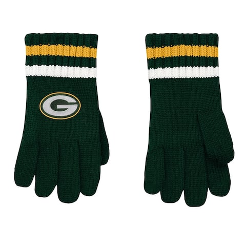 Green Bay Packers Kids Knit Gloves