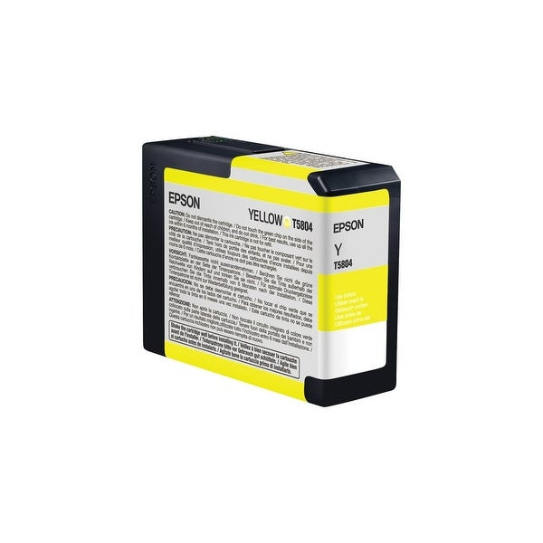Epson UltraChrome K3 Ink Cartridge - Yellow Ink Cartridge