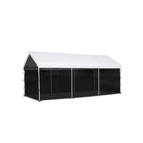 ShelterLogic 8-leg Canopy with Screen Kit / 23531
