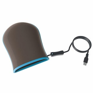 Led Light Therapy Hand Pain Reliever Mitten - brown