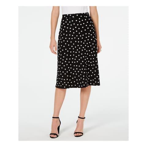 KASPER Black Below The Knee Skirt 6