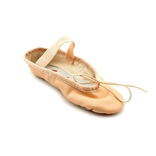 Capezio Teknik Round Toe Leather Ballet Flats