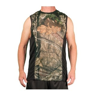 Mossy Oak Men's Breathable Performance Tank
