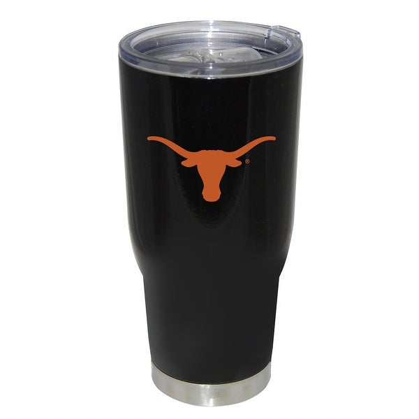 Texas Longhorns Powder Coated Keeper Tumbler