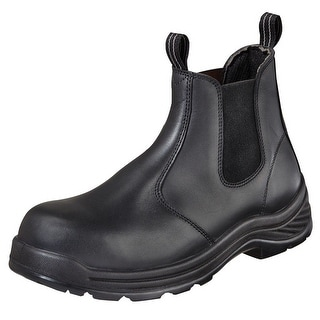 """Thorogood Work Boots Mens 6"""" Quick Release Station CT Black 804-6034"""