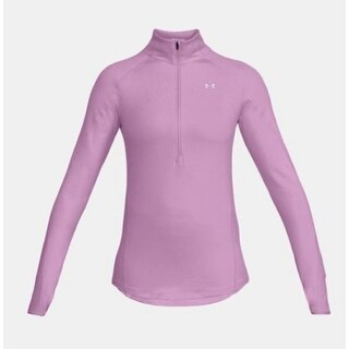 Under Armour Half-Zip Training Top Pink Size Extra Large - XL