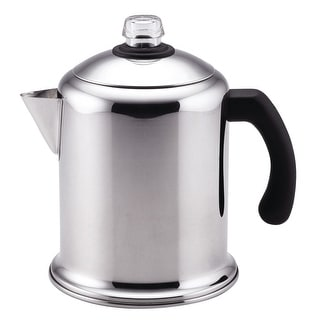 Farberware 50124 Yosemite Coffee Percolator, Stainless Steel, 8 Cups