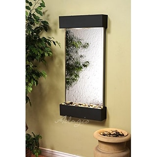 Waterfall Wall WCS3540 - Antique Bronze-Silver Mirror - Adagio Whispering Creek