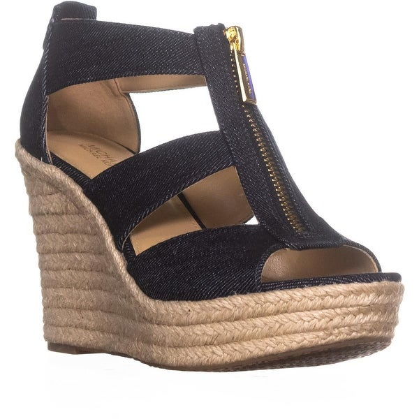 dc95db80045d Shop MICHAEL Michael Kors Damita Wedge Espadrille Sandals