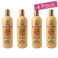 Rinju 4-Pack Beaute Reelle Body And Hand Lotion, 16 Ounces - Orange
