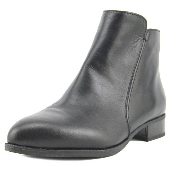 Nine West Norabel Women Pointed Toe Leather Black Ankle Boot