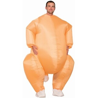 Adult Inflatable Turkey Halloween Costume - standard - one size