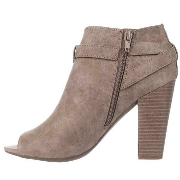 G by Guess Womens Julep Peep Toe Ankle Fashion Boots
