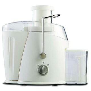 Brentwood JC452W 400 Watt Juice Extractor In White