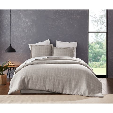 Cottage Home Zachery Linen Duvet Cover Set