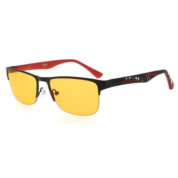 1dfa166e706 Eyekepper Computer Glasses Half-rim UV400 Reduces Eyestrain-96.9% Blue  Light Blocking Orange