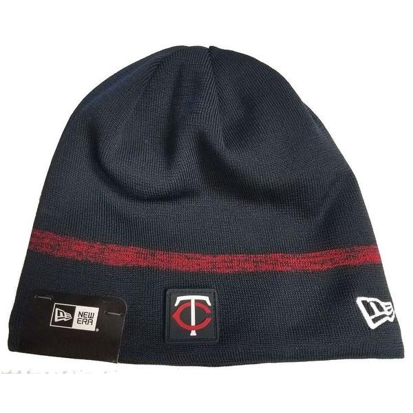 ed1689b1372 ... uk shop new era mlb minnesota twins clubhouse stocking knit hat beanie  skull cap navy free