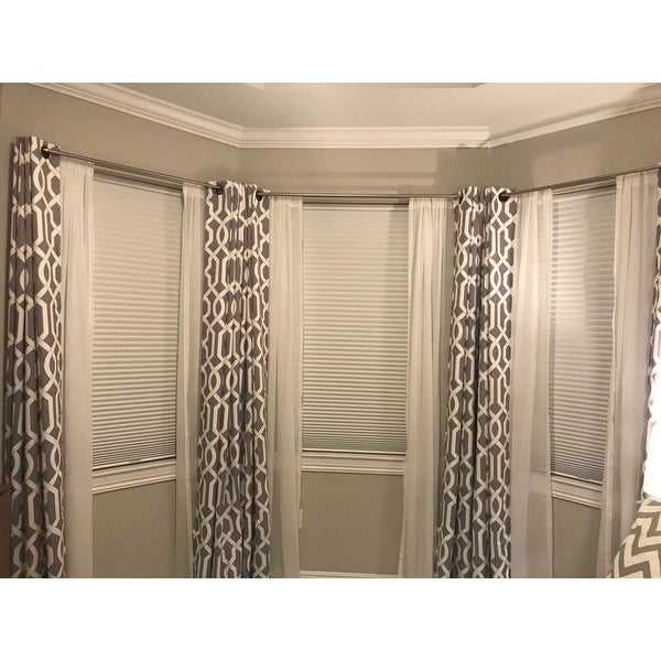 Umbra Twilight Room Darkening Double Curtain Rod On Free Shipping Orders Over 45 18379066