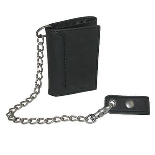 Link to Levis Men's Leather Trifold Chain Wallet - one size Similar Items in Big & Tall