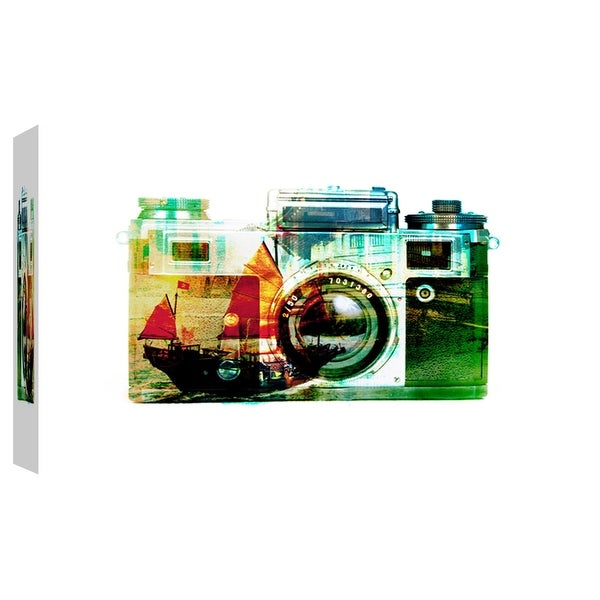"PTM Images 9-103703 PTM Canvas Collection 8"" x 10"" - ""Hong Kong Snapshot"" Giclee Entertainment Art Print on Canvas"