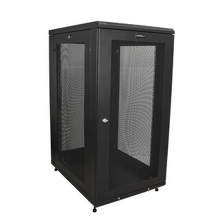 Startech - Securely Store Servers Network And Telecommunications Equipment In This 24U Serv