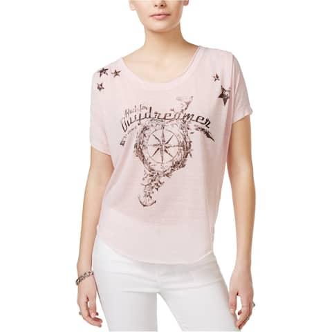 William Rast Womens Daydreamer Graphic T-Shirt