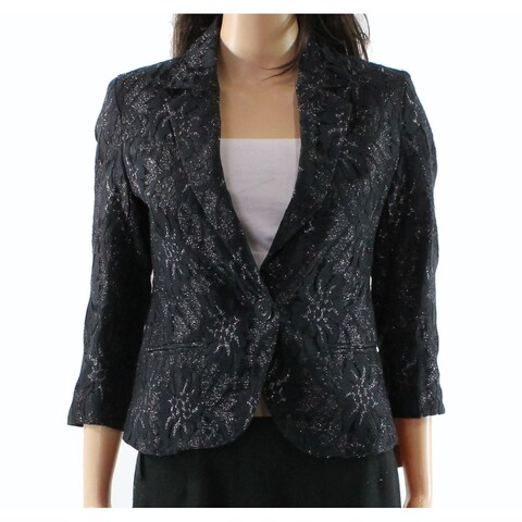 Ellen Tracy Women's Lace Notch Collar Jacket $149-