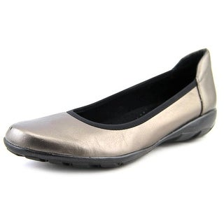 Vaneli Sport Arvel   Round Toe Leather  Flats