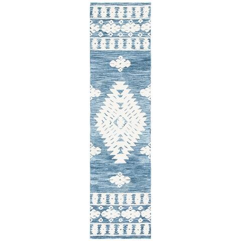 Safavieh Handmade Aspen Cerstin Rustic Boho Wool Rug