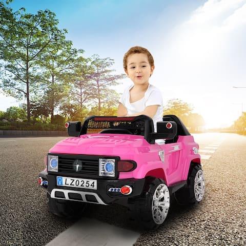 "LEADZM LZ-9922 Off-Road Vehicle Double Drive 35W*2 Battery 12V7AH*1 - 7'6"" x 9'6"""