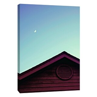 "PTM Images 9-108645  PTM Canvas Collection 10"" x 8"" - ""Moonlight"" Giclee Moon Art Print on Canvas"