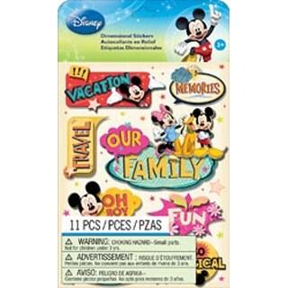 Mickey Family - Disney Dimensional Stickers
