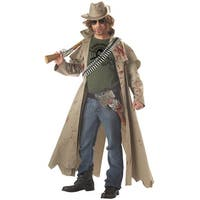 California Costumes Zombie Hunter Adult Costume - Brown