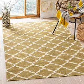 Safavieh Handmade Flatweave Dhurries Lani Modern Wool Rug